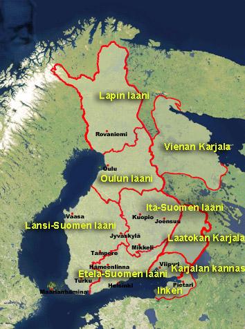 Suomen Kansan Esavelmat Karttoja